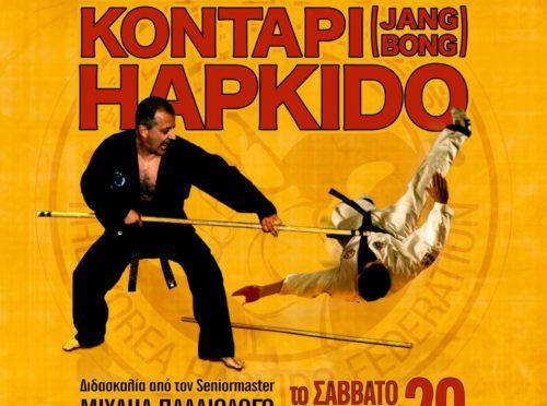 ΑΓΣ Τζιτζιφιών Hapkido Σεμινάριο Κοντάρι