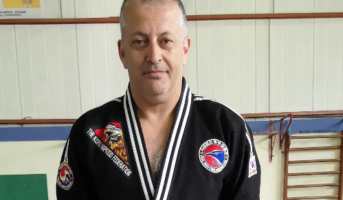 Master Michael Paleologos AGS Tzitzifion Hapkido